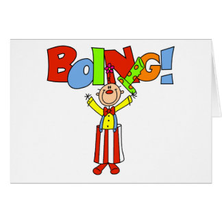 De Clown van Boing Briefkaarten 0