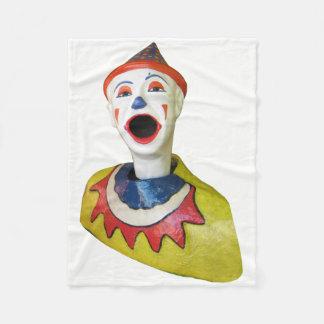 De Clown van Carnaval Fleece Deken
