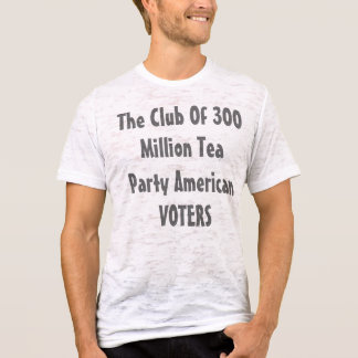 De club van 300 Miljoen Amerikaanse KIEZERS van T Shirt