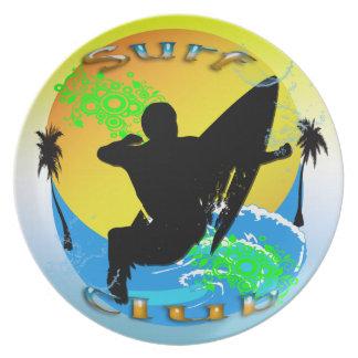 De Club van de branding - Bord Surfer