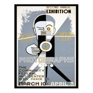 De Club van de camera, 1939 Briefkaart
