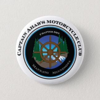 De Club van de Motorfiets van kapitein Ahab's Ronde Button 5,7 Cm