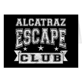 De Club van de Vlucht van Alcatraz Kaart