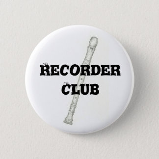De Club van het registreertoestel Ronde Button 5,7 Cm