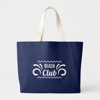 De Club van het Strand van de zomer Jumbo Draagtas