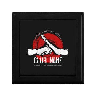De Club van vechtsporten Decoratiedoosje