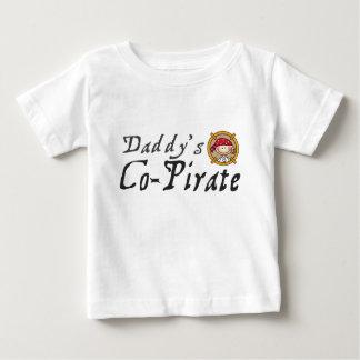 De co-Piraat van de papa Baby T Shirts