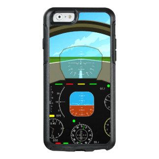 De Cockpit van het Vliegtuig van de lucht OtterBox iPhone 6/6s Hoesje