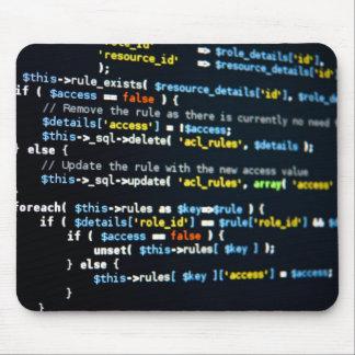 De Code Mousemat van het Web Muismat