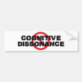 De Cognitieve Wanklank van het verbod Bumpersticker