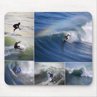 De Collage Mousepad van Surfers Muismatten