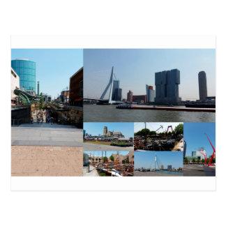 De collage Rotterdam 3 van de foto Briefkaart