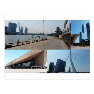 De collage Rotterdam 4 van de foto Briefkaart