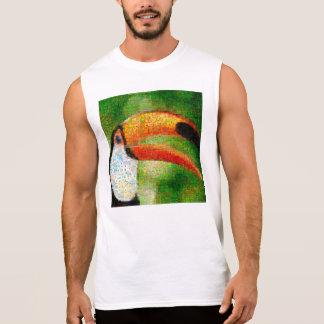 De collage-toekan van de toekan kunst - t shirt