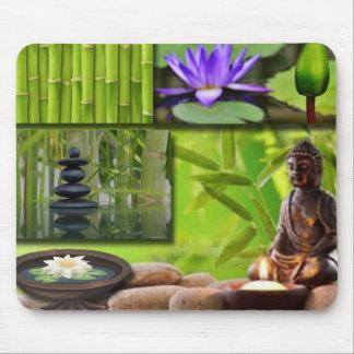 De Collage van Boedha Muismat
