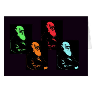 De Collage van Charles Darwin Briefkaarten 0