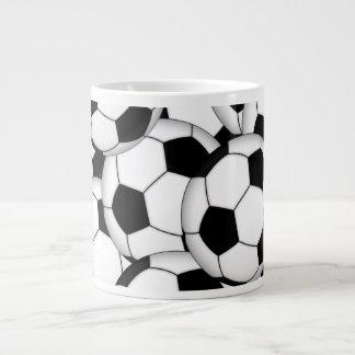 De Collage van de Bal van het voetbal Grote Koffiekop