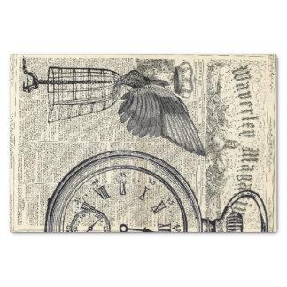 De Collage van de Efemere verschijnselen van de 25,4 X 38,1 Cm Zijdepapier