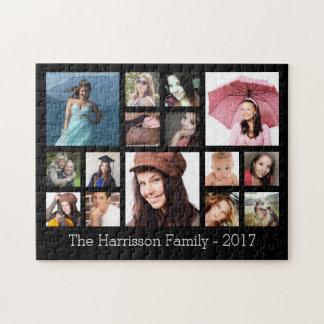 De Collage van de Foto van de Familie van de Puzzel