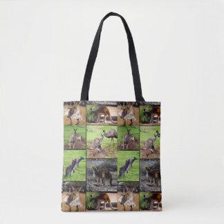 De Collage van de Foto van de kangoeroe, Volledige Draagtas