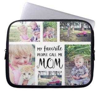 De Collage van de Foto van het mamma Mijn Computer Sleeve
