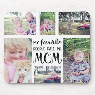De Collage van de Foto van het mamma Mijn Muismat