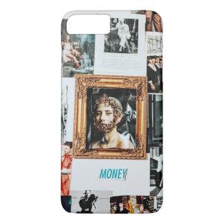 De Collage van de Mode van het geld iPhone 8/7 Plus Hoesje