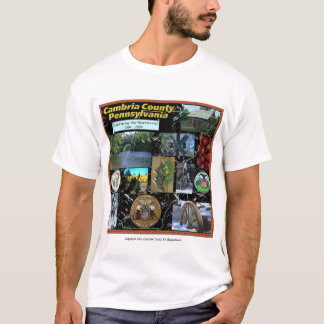 De Collage van de Provincie van Cambria T Shirt