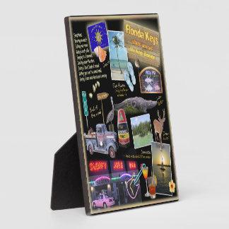 De Collage van de Sleutels van Florida Fotoplaten