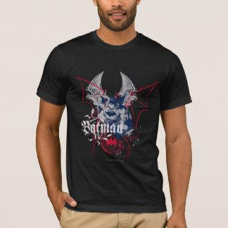 De Collage van de Vleugel van Batman T Shirt