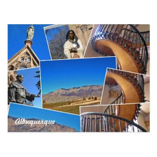 De Collage van Fe van de Kerstman van Albuquerque, Briefkaart