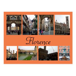 De Collage van Florence Briefkaart