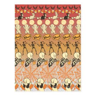 De Collage van het Boe-geroep van Casper Briefkaart