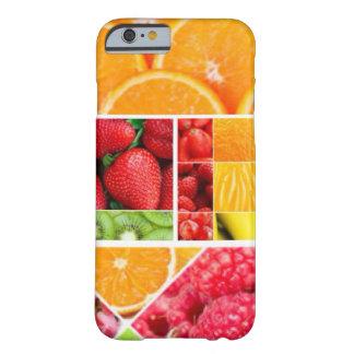 De Collage van het Fruit van de mengeling Barely There iPhone 6 Hoesje