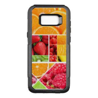 De Collage van het Fruit van de mengeling OtterBox Commuter Samsung Galaxy S8+ Hoesje