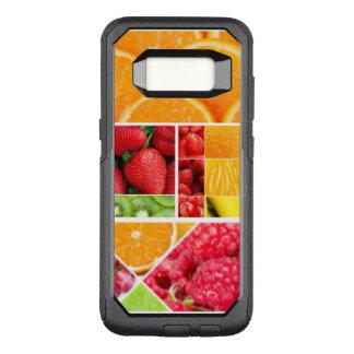 De Collage van het Fruit van de mengeling OtterBox Commuter Samsung Galaxy S8 Hoesje