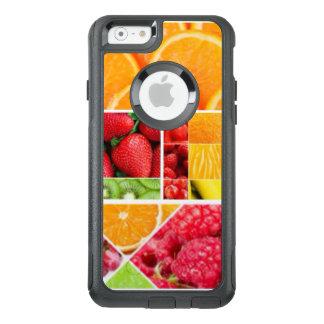 De Collage van het Fruit van de mengeling OtterBox iPhone 6/6s Hoesje
