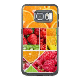 De Collage van het Fruit van de mengeling OtterBox Samsung Galaxy S6 Edge Hoesje