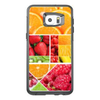 De Collage van het Fruit van de mengeling OtterBox Samsung Galaxy S6 Edge Plus Hoesje