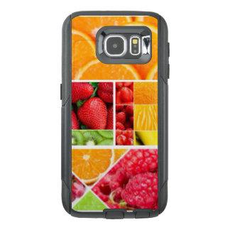 De Collage van het Fruit van de mengeling OtterBox Samsung Galaxy S6 Hoesje