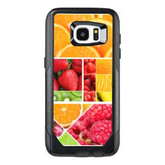 De Collage van het Fruit van de mengeling OtterBox Samsung Galaxy S7 Edge Hoesje