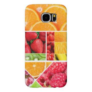 De Collage van het Fruit van de mengeling Samsung Galaxy S6 Hoesje