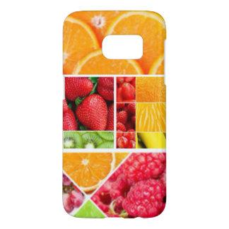 De Collage van het Fruit van de mengeling Samsung Galaxy S7 Hoesje