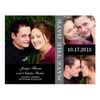 De Collage van het verloving bewaart de Briefkaart
