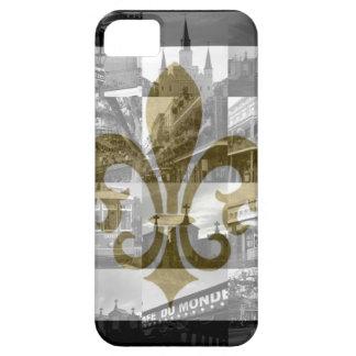 De Collage van New Orleans [iPhone hoesje-Partner  Barely There iPhone 5 Hoesje