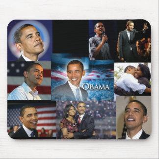De Collage van Obama van Barack Muismat