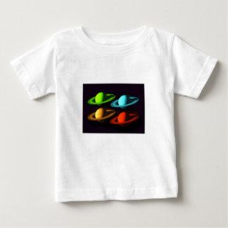 De Collage van Saturn Baby T Shirts