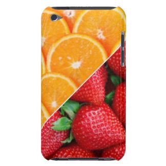 De Collage van sinaasappels & van Aardbeien iPod Touch Hoesje