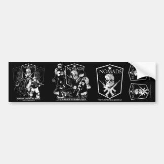 De Collage van Stiker van nomaden Bumpersticker