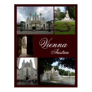 De Collage van Wenen Briefkaart